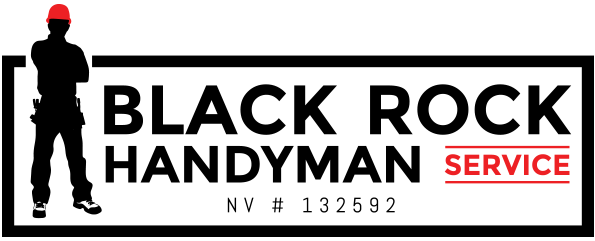 Black Rock Handyman Service Logo